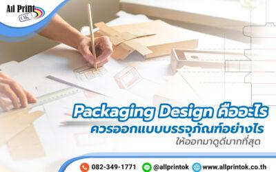 Packaging Design คืออะไร ควรออกแบบบรรจุภัณฑ์อย่างไร ให้ออกมาดูดีมากที่สุด